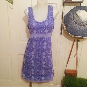 Athleta Sundress - M lavender , cotton